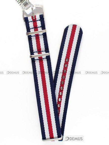 Pasek nylonowy do zegarka - Morellato A01U3972A74883 18 mm