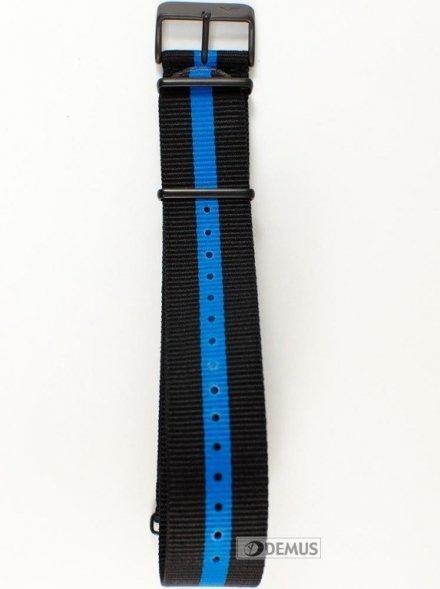 Pasek nylonowy do zegarka Vostok North Pole - VE-24-BLU - 24mm