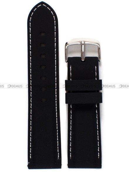 Pasek silikonowy do zegarka - Chermond PG1.24.1.7 - 24 mm