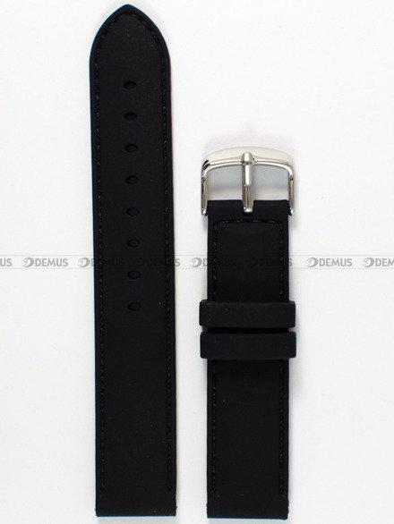 Pasek silikonowy do zegarka - Chermond PG10.20.1.1 - 20 mm