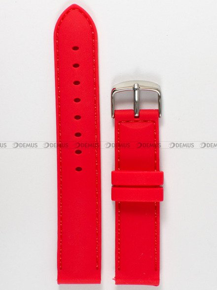 Pasek silikonowy do zegarka - Chermond PG10.20.4.4 - 20 mm