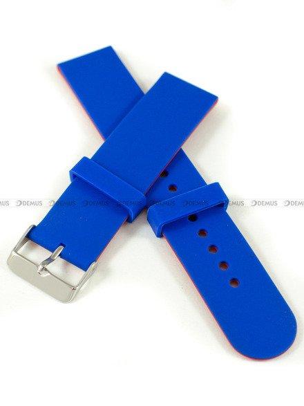 Pasek silikonowy do zegarka - Chermond PG11.22.2.4 - 22 mm