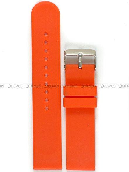 Pasek silikonowy do zegarka - Chermond PG11.22.5 - 22 mm