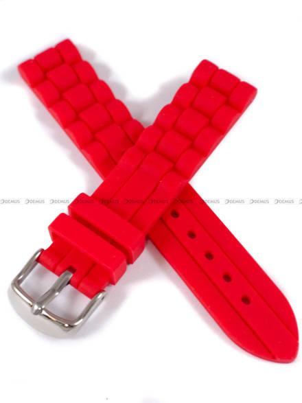 Pasek silikonowy do zegarka - Chermond PG4.18.4 - 18 mm
