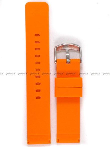 Pasek silikonowy do zegarka - Chermond PG8.20.5 - 20 mm