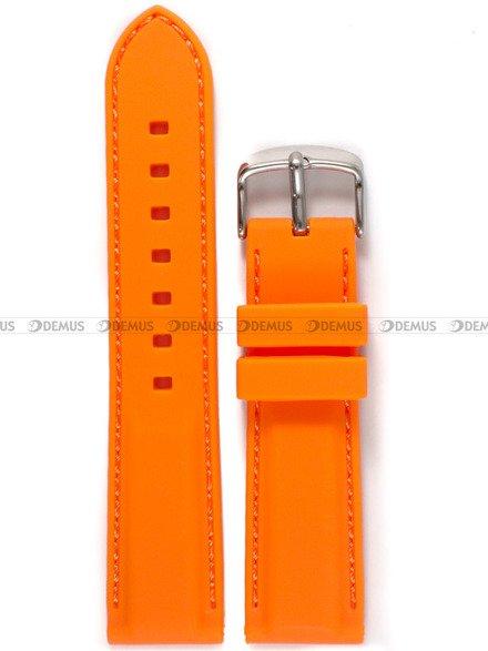 Pasek silikonowy do zegarka - Chermond PG9.22.5.5 - 22 mm