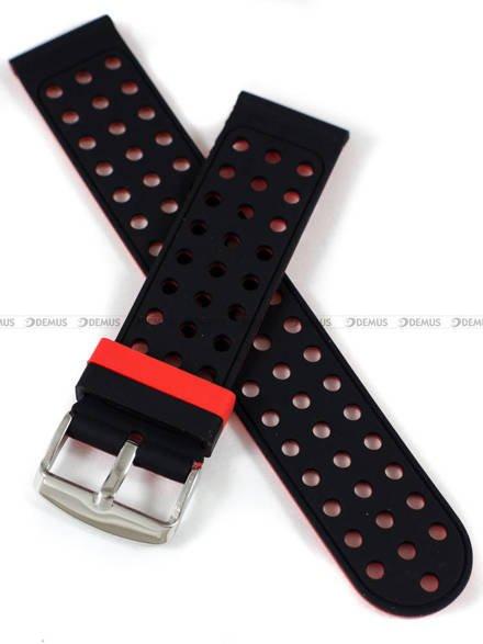 Pasek silikonowy do zegarka - Demus PGS2.22.1.4 - 22 mm