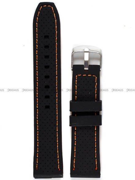Pasek silikonowy do zegarka - Demus PGS6.20.1.12 - 20 mm