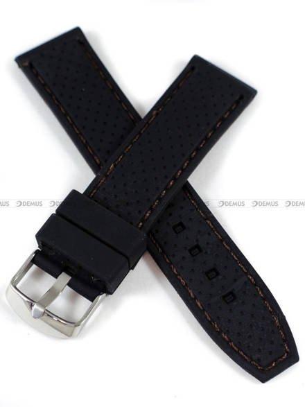Pasek silikonowy do zegarka - Demus PGS6.22.1.2 - 22 mm