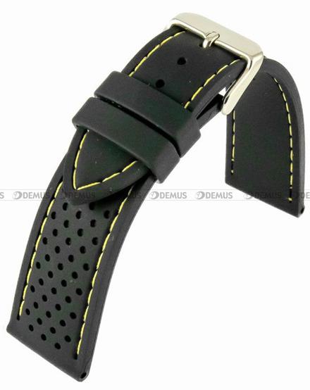 Pasek silikonowy do zegarka - Horido 0015.01Y.18S - 18 mm