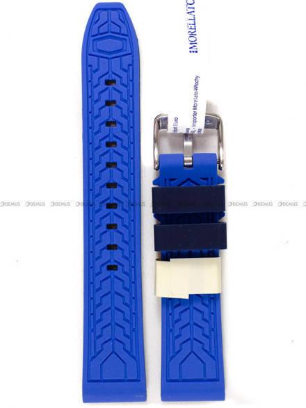 Pasek silikonowy do zegarka - Morellato A01X4797187862 - 20 mm