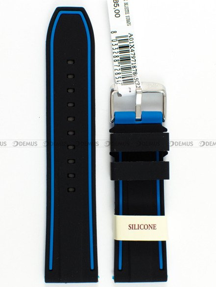 Pasek silikonowy do zegarka - Morellato A01X4797187865 - 24 mm