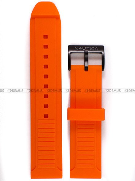Pasek silikonowy do zegarka Nautica A11619G  - 22 mm