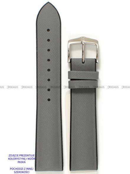 Pasek skórzano-kauczukowy do zegarka - Hirsch Arne 0925094030-2-18 - 18 mm