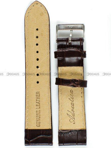 Pasek skórzany do zegarka - Adriatica PADR15.22.2-S - 22 mm