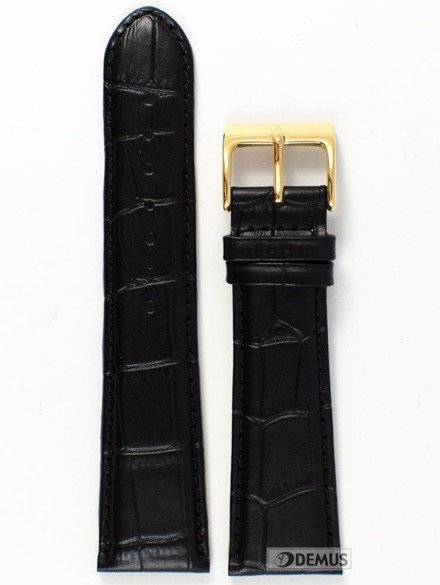 Pasek skórzany do zegarka Atlantic - L397.01.24G - 24 mm