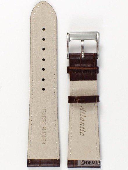 Pasek skórzany do zegarka Atlantic - L397.02.24S - 24 mm