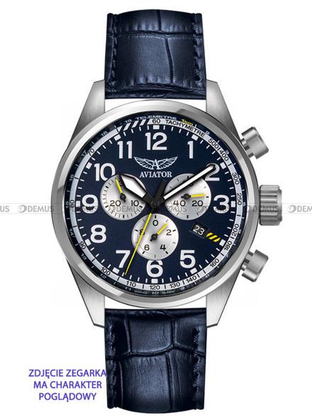 Pasek skórzany do zegarka Aviator Kingcobra V.2.25 - 22 mm