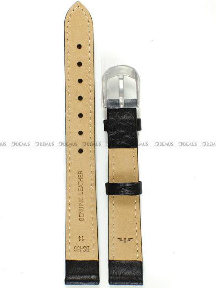 Pasek skórzany do zegarka Bisset - BS-156 - 14 mm - XL