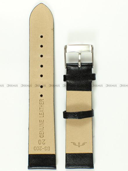 Pasek skórzany do zegarka Bisset BS-200 - 20 mm