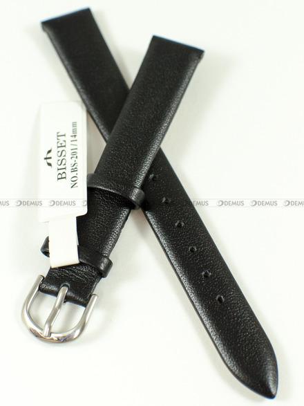 Pasek skórzany do zegarka Bisset - BS-201 - 14 mm