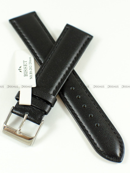 Pasek skórzany do zegarka Bisset BS-202 - 20 mm