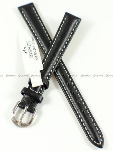Pasek skórzany do zegarka Bisset - BS-203 - 12 mm