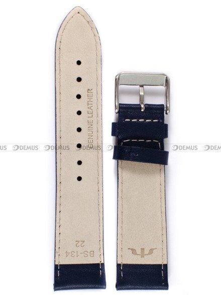 Pasek skórzany do zegarka Bisset - PB100.22.5 - 22 mm