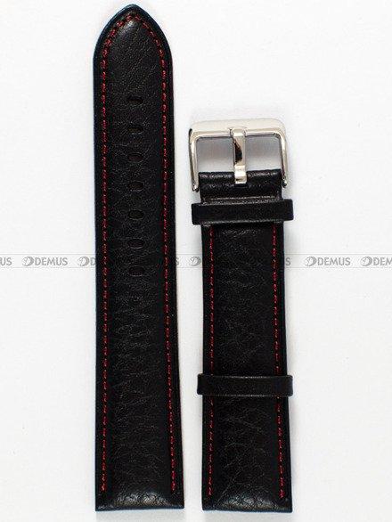 Pasek skórzany do zegarka Bisset - PB25.22.1 - 22 mm