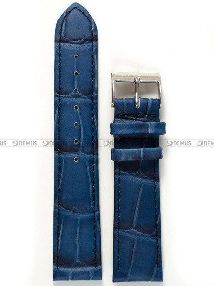 Pasek skórzany do zegarka Bisset - PB33.20.5 - 20 mm