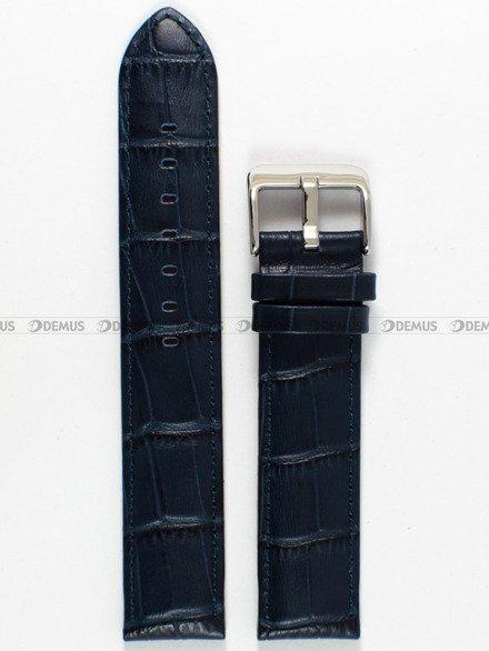 Pasek skórzany do zegarka Bisset - PB38.20.5 - 20 mm