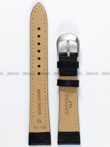 Pasek skórzany do zegarka Bisset - PB71.18.1.4 - 18 mm