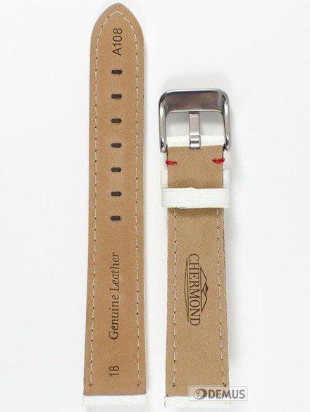 Pasek skórzany do zegarka - Chermond A108.18.7.4 - 18mm