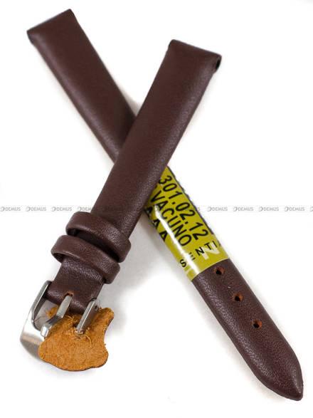Pasek skórzany do zegarka - Diloy 301.12.2 - 12 mm