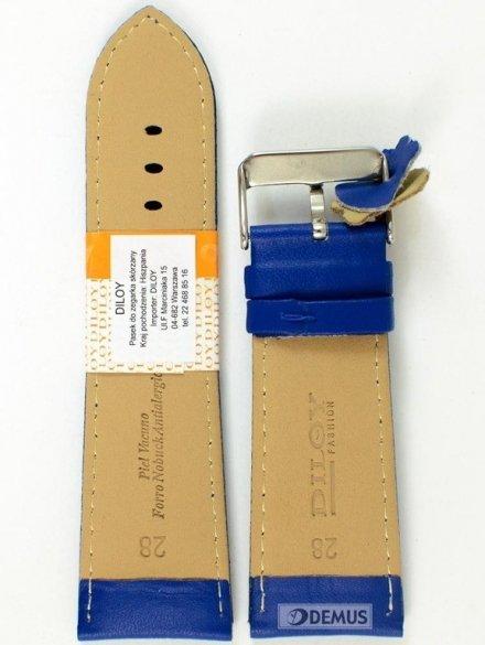 Pasek skórzany do zegarka - Diloy 302EA.28.16 - 28mm