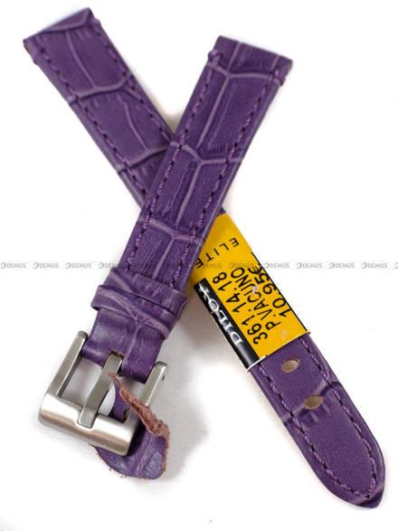 Pasek skórzany do zegarka - Diloy 361.14.18 - 14 mm