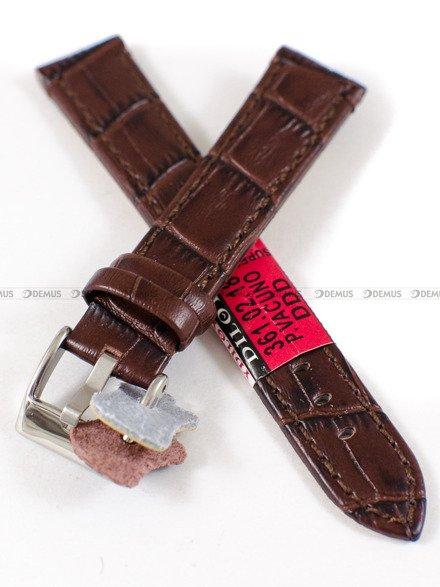 Pasek skórzany do zegarka - Diloy 361.18.2 - 18mm