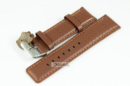 Pasek skórzany do zegarka - Diloy 367.24.9 - 24mm