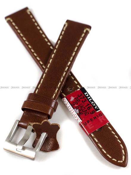 Pasek skórzany do zegarka - Diloy 373.16.9 - 16 mm