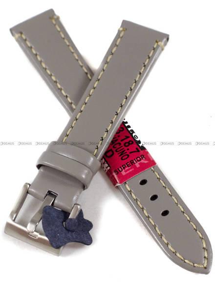 Pasek skórzany do zegarka - Diloy 373.18.7 v2 - 18 mm