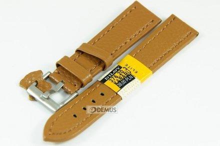Pasek skórzany do zegarka - Diloy 376.22.3 - 22mm