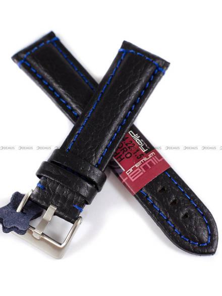 Pasek skórzany do zegarka - Diloy 394.22.1.5 - 22 mm