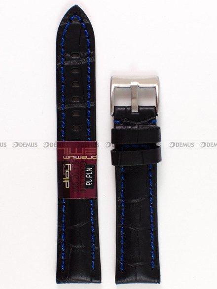 Pasek skórzany do zegarka - Diloy 395.20.1.5 - 20 mm