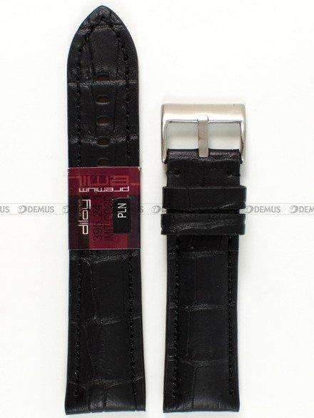 Pasek skórzany do zegarka - Diloy 395.24.1 - 24 mm