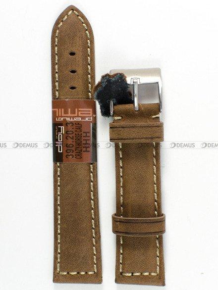 Pasek skórzany do zegarka - Diloy 396.20.3 - 20 mm