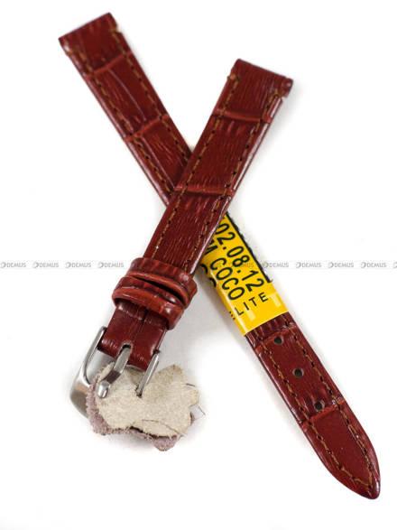 Pasek skórzany do zegarka - Diloy 402.12.8 - 12 mm