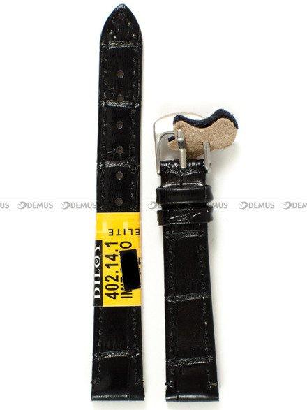 Pasek skórzany do zegarka - Diloy 402.14.1 - 14 mm