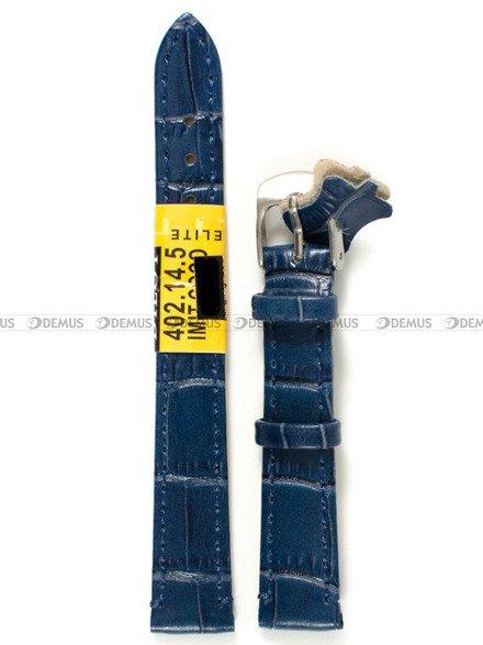 Pasek skórzany do zegarka - Diloy 402.14.5 - 14 mm