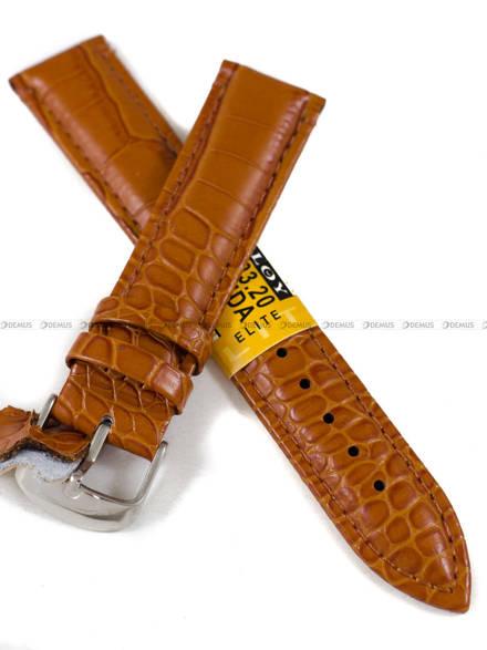 Pasek skórzany do zegarka - Diloy 412.20.3 - 20 mm