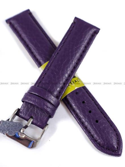 Pasek skórzany do zegarka - Diloy P205.18.18 - 18mm